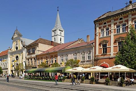 Historic old town of Kosice, Slovakia