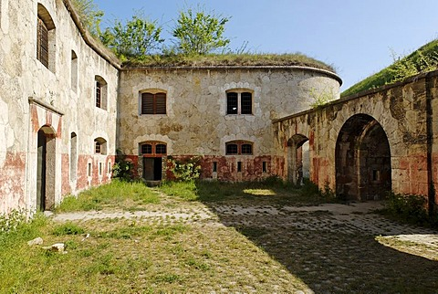 Imperial austrian fortress of Monostor, Fort Sandberg, Unesco World Heritage candidate, Komarom, Hungaria