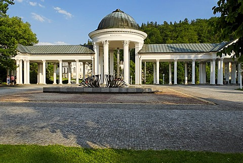 Health resort Marianske Lazne, Marienbad, west Bohemia, Czech Republik