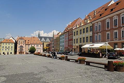 Historic old town of Cheb, Eger, west Bohemia, Czech Republik