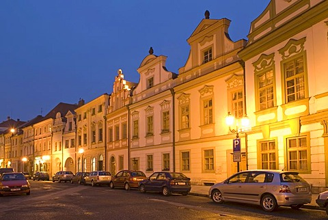 Historic old town of Hradec Kralove, Koeniggraetz, East Bohemia, Czech Republic