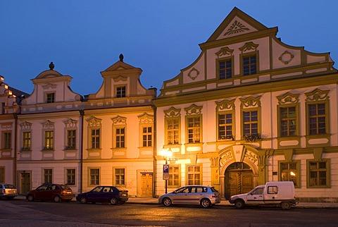 Historic old town of Hradec Kralove, Koeniggraetz, East Bohemia, Czech Republic
