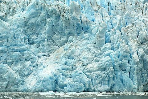 Holgate Glacier, Harding Icefield, Kenai Fjords National Park, Alaska, USA