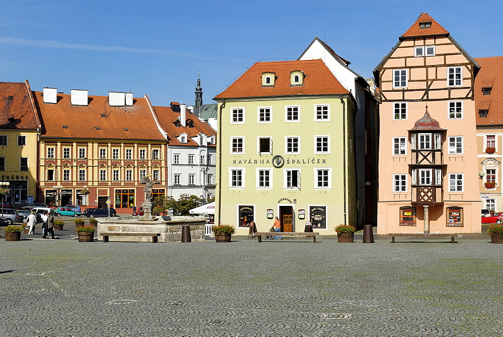 Stoeckl, historic old town of Cheb, Eger, west Bohemia, Czech Republik