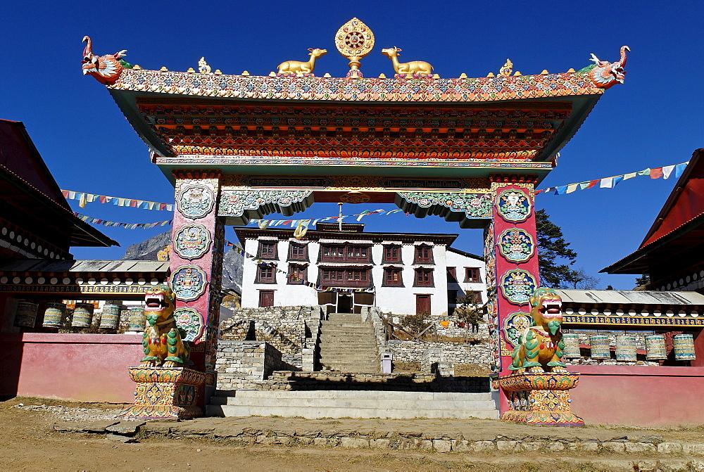 Tengpoche monastery, Sagarmatha National Park, Khumbu, Nepal