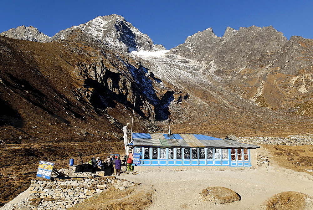 Trekking Lodge at Luza (4360), Sagarmatha National Park, Khumbu Himal, Nepal