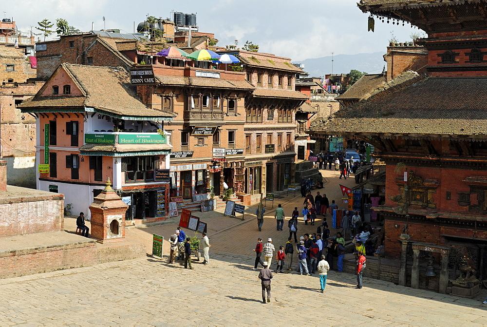 Taumadhi Tole, old town of Bhaktapur, Kathmandu, Nepal