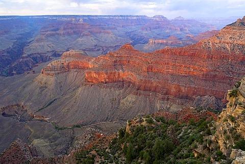 Mather Point, South Rim, Grand Canyon National Park, Arizona, USA