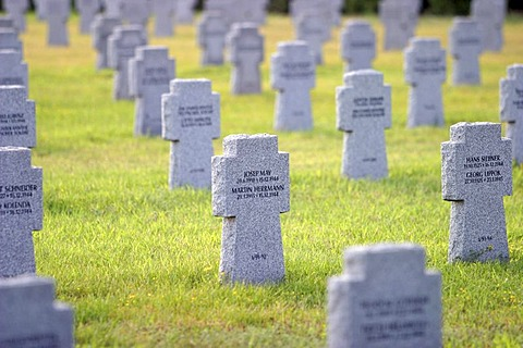 German military cemetery Szekesfehervar Hungary