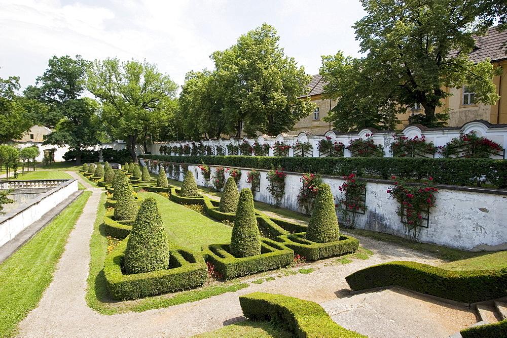 Park, Castle of Dux, Giacomo Girolamo Casanova lived here, Duchcov, Czech Republic