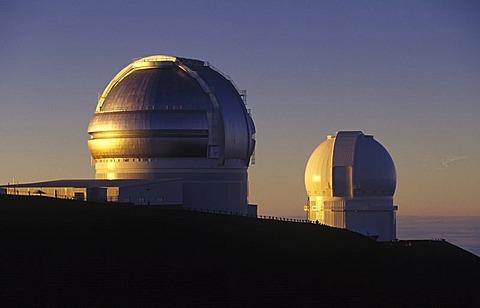 NASA observatory at the Mauna Kea in Big Island, Hawaii, USA