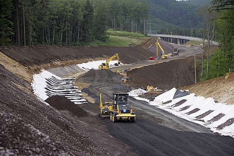 Expressway under construction