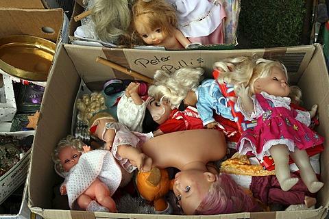 Dolls in a box