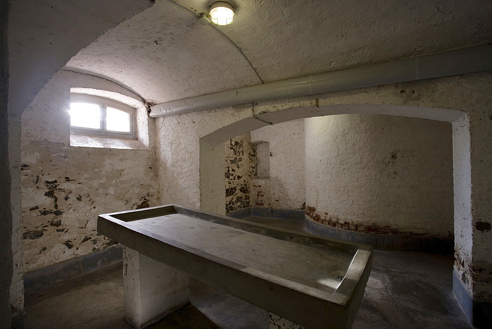 In the Sectionroom of the KZ Hadamar hat Nazi-Doctors making horrible trials with disabled humans, hesse, Germany.