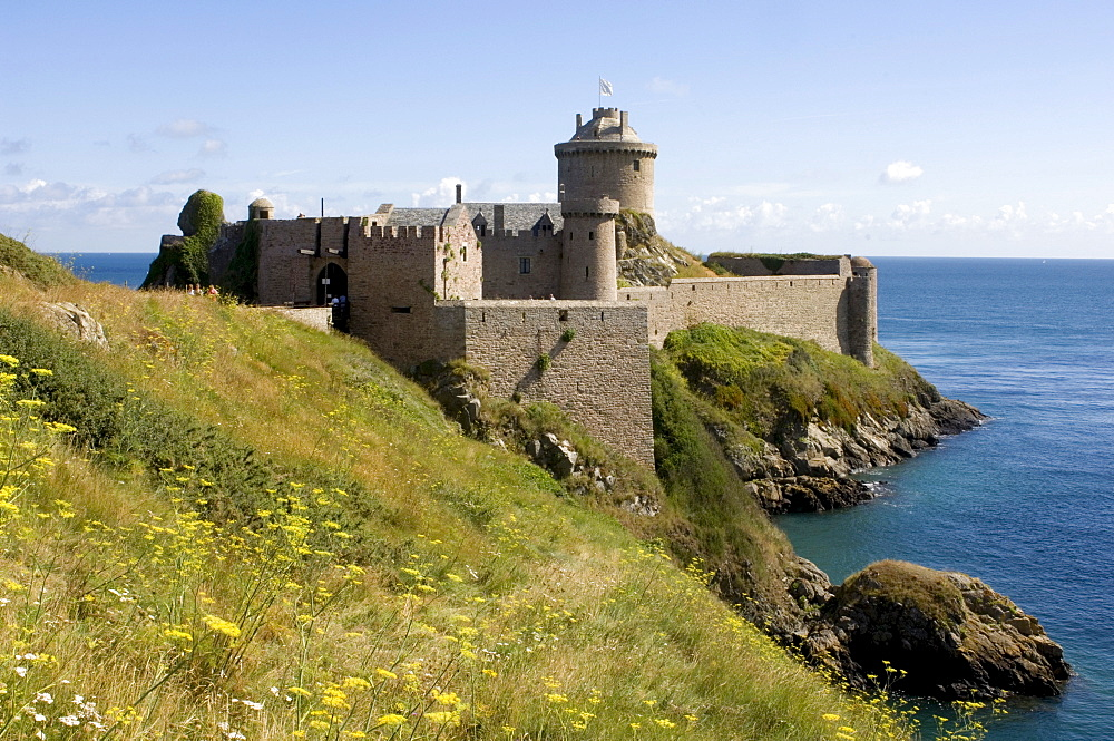 Fort la Latte Fortress near Cap Frehel, Bretagne, France, Europe