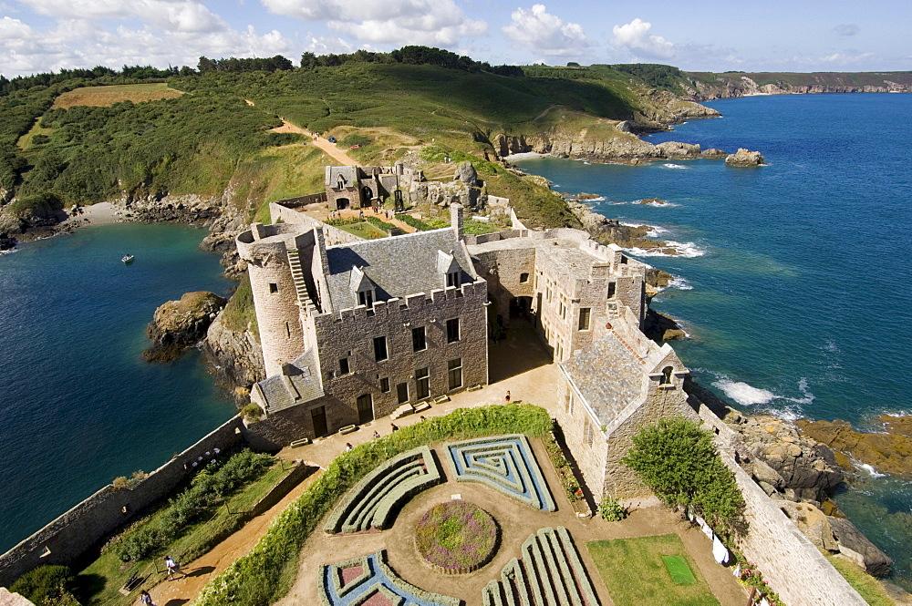 La Latte Fortress near the Cap Frehels, Bretagne, France, Europe