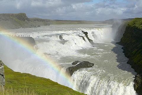 """""""Golden Waterfalls"""", Gulfoss, Iceland"""