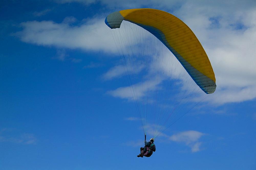 Paraglider, Erquy, Bretagne, France