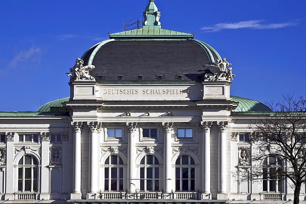 Deutsches Schauspielhaus Theatre in Hamburg, Germany, Europe