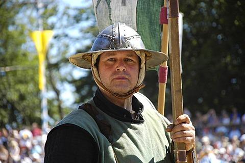 Lansquenets, knight festival Kaltenberger Ritterspiele, Kaltenberg, Upper Bavaria, Germany