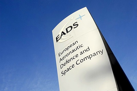 Sign: EADS- European Aeronautic Defence ans Space Comany. EADS -