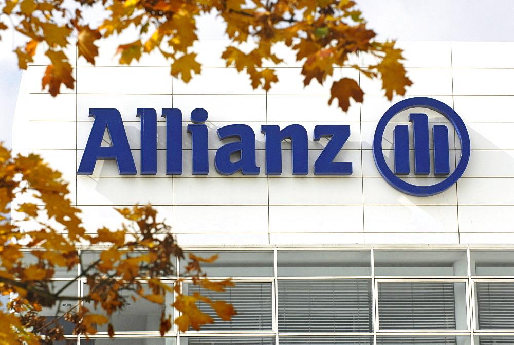 """Company label """"Allianz"""""""