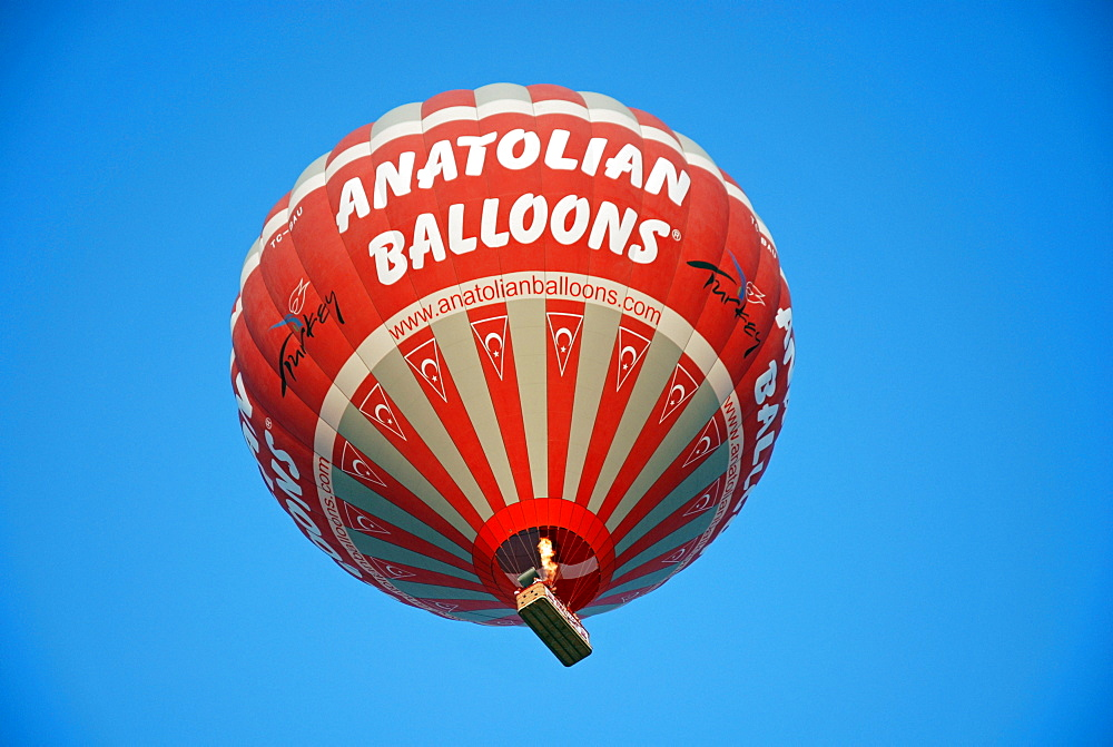 Hot-air ballon, Cappadocia, Turkey - 832-363805