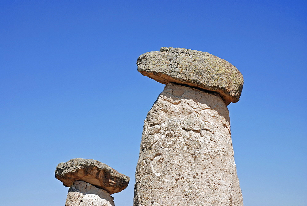 Chimneys, Uerguep, Cappadocia, Turkey