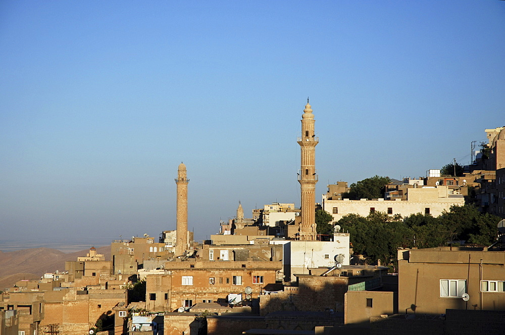 Houses, north Syrian architectural style, Mardin, South-East Anatolia, Turkey