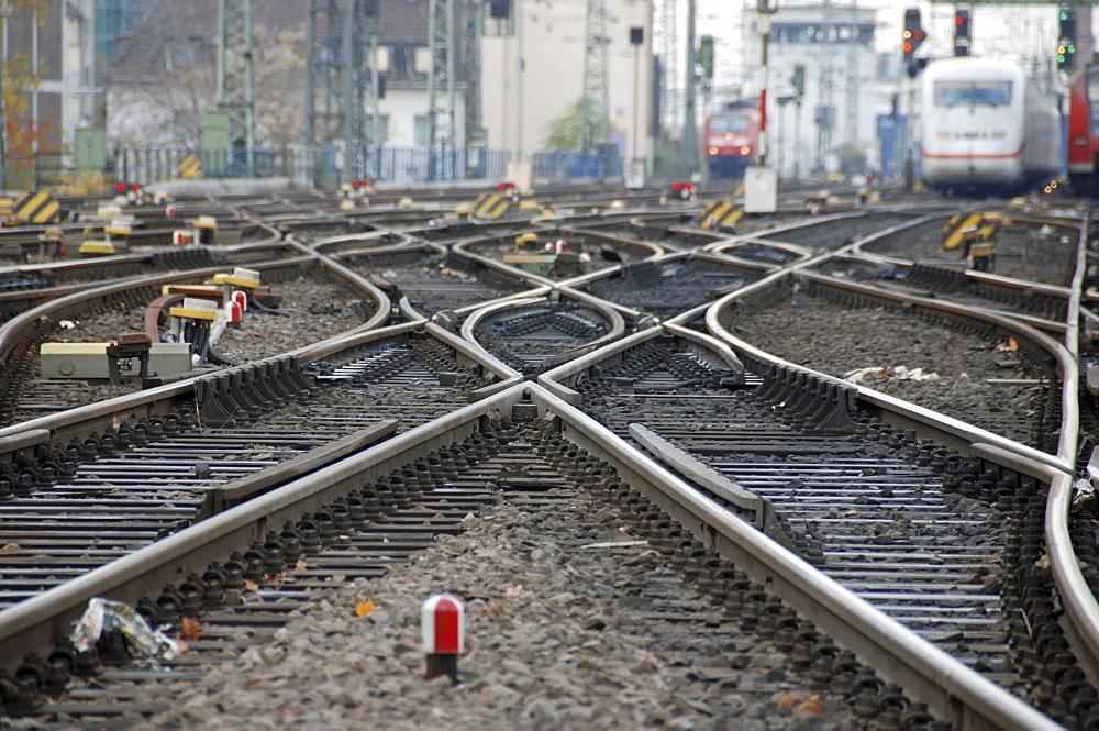 Tracks, Cologne, North Rhine-Westphalia, Germany