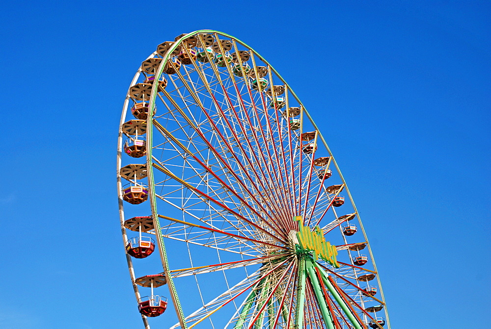 Ferris wheel, Cologne, North-Rhine Westphalia, Germany, Europe