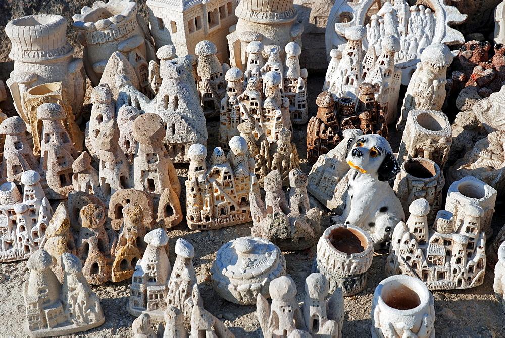 Souvenirs, Goereme, Cappadocia, Anatolia, Turkey, Asia