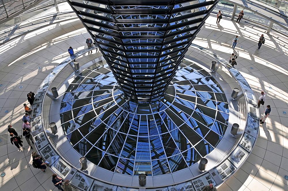 Reichstag Dome, Bundestag, German Parliament Building, Berlin, Germany, Europe