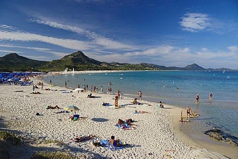 Sandy beach, Costa Rei, Sardinia