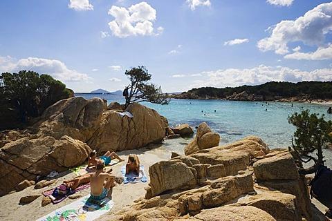 Spiaggia Capriccioli Costa Smeralda Sardinia Italy