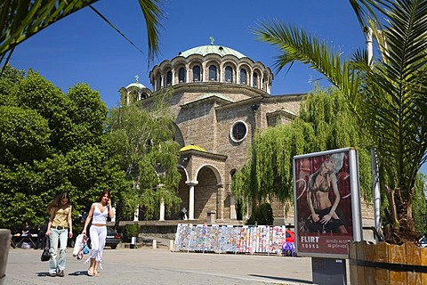 Christian orthodox church Sveta Nedelia, Sofia, Bulgaria