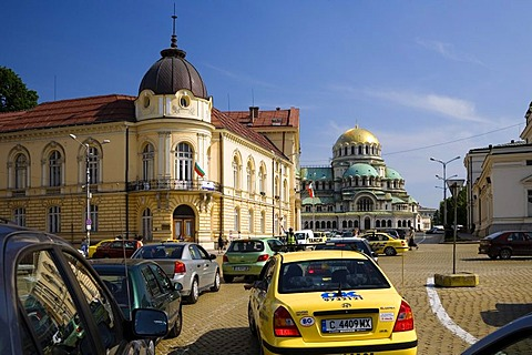Bulgarian Academy of Sciences, Saint Alexander Nevski Cathedral, Sofia, Bulgaria