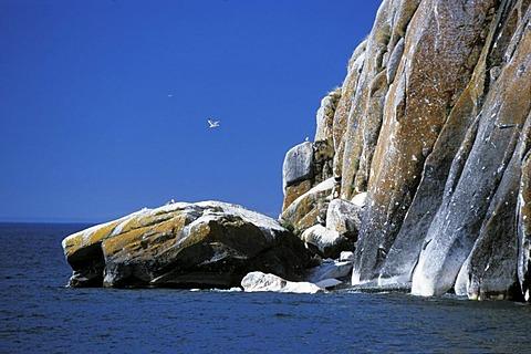 Saganzaba White Rocks, Lake Baikal, Siberia, Russia