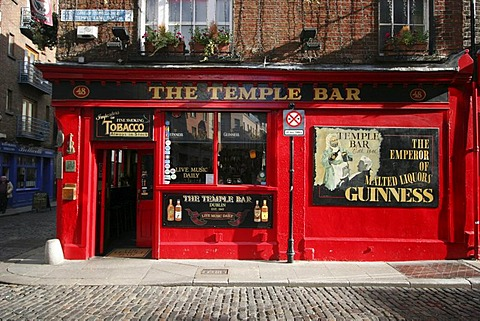 Temple Bar , Dublin , Leinster , Ireland , Europe