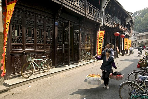 Old pharmacy, museum for Chinese Medicine, Hangzhou, Zhejiang, China, Asia
