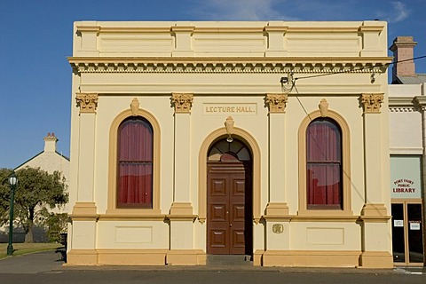 Great Ocean Road, house, Lecture Hall, Port Fairy, Victoria, Australia