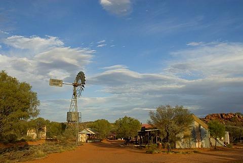 Ooraminna Homestead & Bush Camp, film scenery, Old South Road, Alice Springs, Northern Territories, Australien, Australia