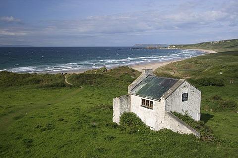 Beach Whitepark Bay, Northern Ireland