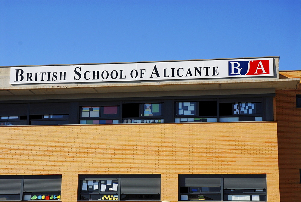 British School of Alicante, Alicante, Costa Blanca, Valencia, Spain