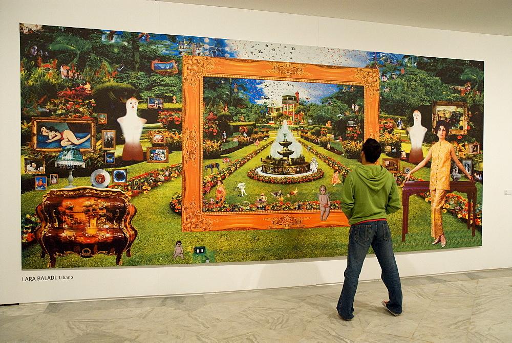 Interior, La Cartuja Art Museum, Seville, Andalusia, Spain, Europe