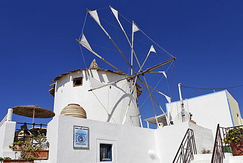 Windmill, Firostefani, Santorini, Greece