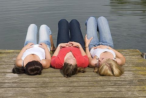 Teenagers, girls, friends