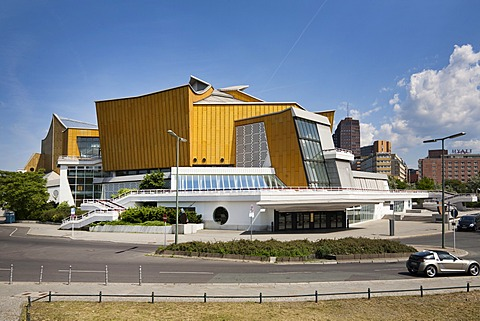 Berliner Philharmonie, Berlin Philharmonic, Kulturforum, cultural forum, Tiergarten district, Berlin, Germany, Europe