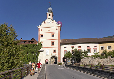 City tower of Gmuend, Carinthia, Austria