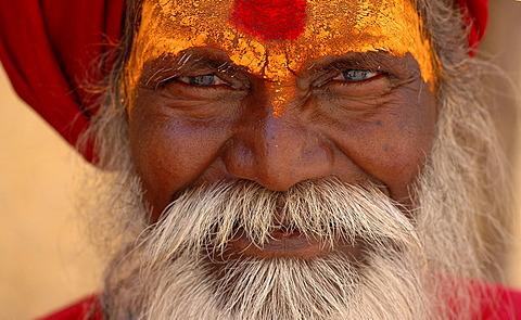 Monk (Sadhu), Amber, Rajasthan, India - 832-369079